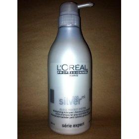 Professionnel Expert Serie - Silver Shampoo - L'Oreal - Professionnel - Hair Care - 500ml/16.9oz, (loreal, shampoo, shampoo for gray hair, shampoo for silver hair, shiny)
