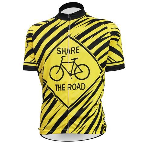 Share the Road Short Sleeve  Cycling Jersey
