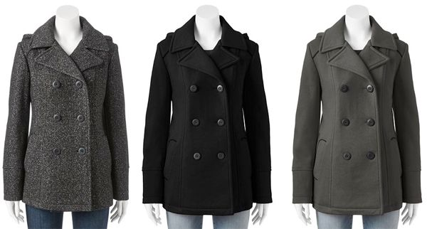 Some of the best pea coats were commissioned by the military and issued to the naval academy. They were made from tough and rugged navy blue wool and were built to keep their shape through the toughest conditions. Pea coats are characterized by short length, broad lapels, double-breasted fronts, often large wooden, metal or plastic buttons, and vertical or slash pockets.