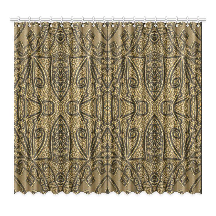 CVAr0042 Doodelidei Center Window Curtain 52