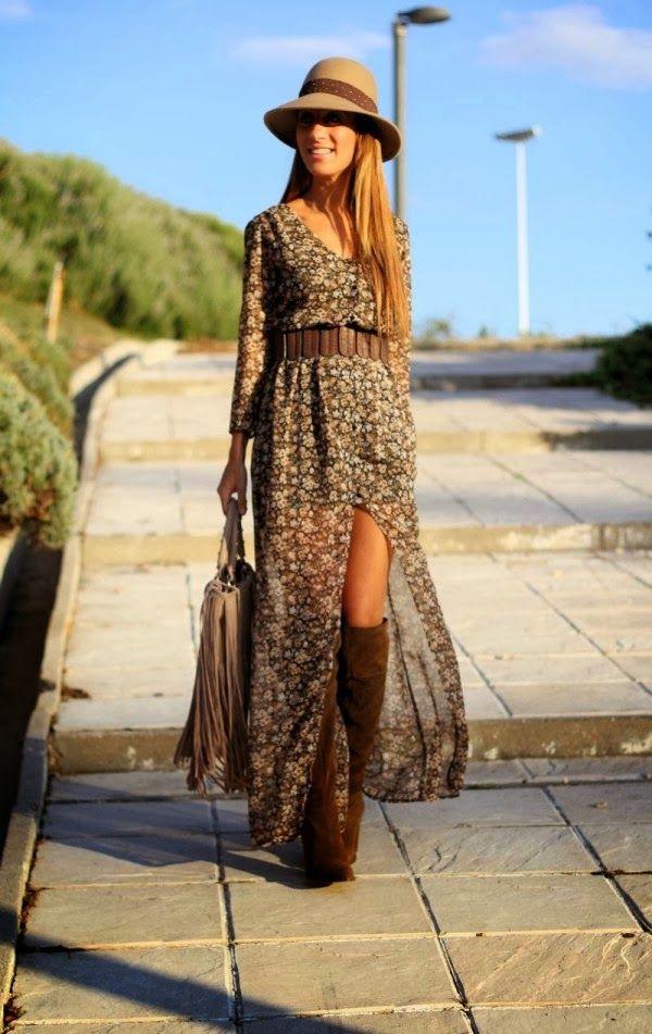Fabulosos vestidos y faldas casuales para el día a día | Viste la moda 2014 | Vestidos | Moda 2014 - 2015