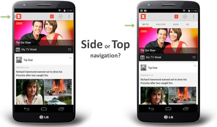 Дизайн меню в приложении может стоить половины пользователей   Цукерберг Позвонит! - интернет-бизнес, стартапы и маркетинг
