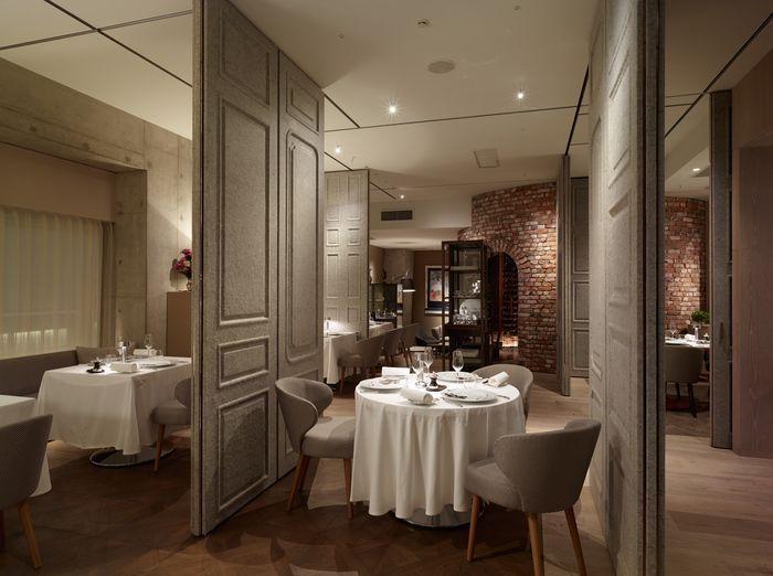 Dominique Bouchet Restaurant By NAO Taniyama Associates Tokyo Japan