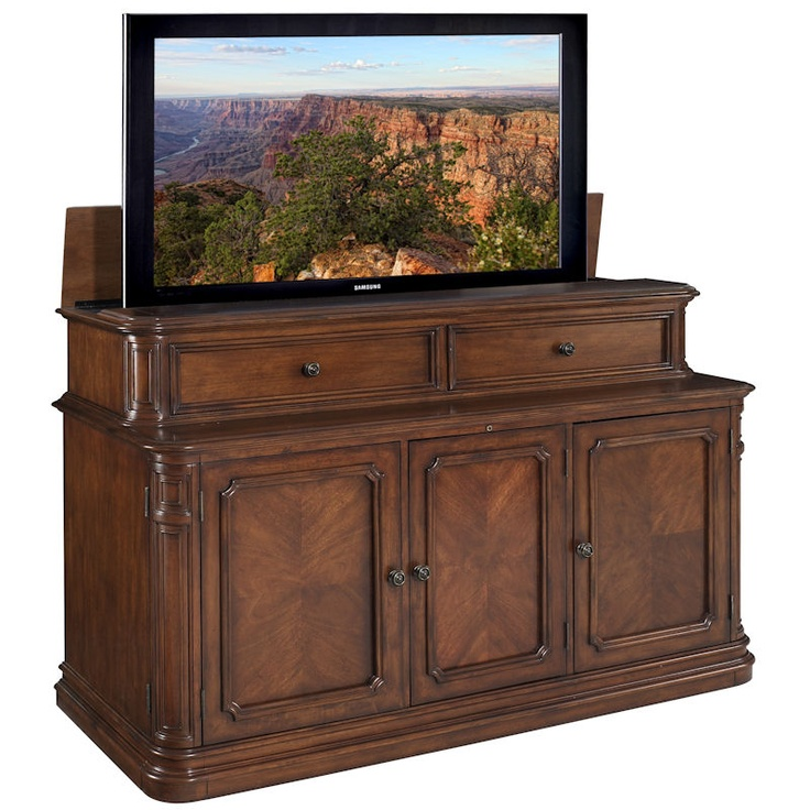 Pacifica TV Lift Cabinet (for 70 inch TVs) Yes, Please!