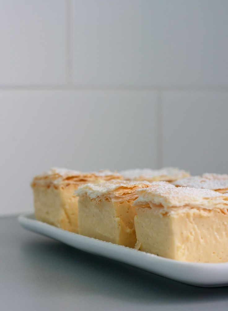 Classic Vanilla Slice | Made From Scratch