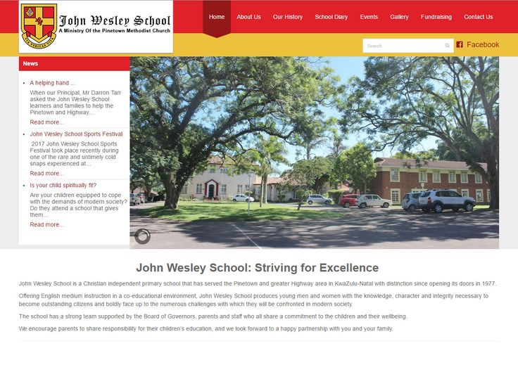 A fresh website for our School client