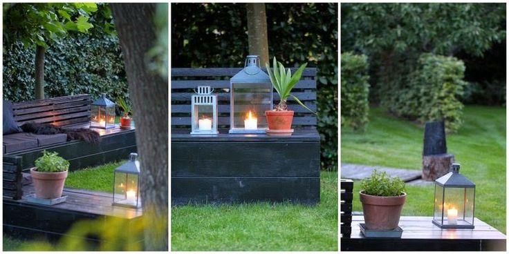 HYGGE I DET NORDISKE TUSMØRKE - Nordic garden lounge