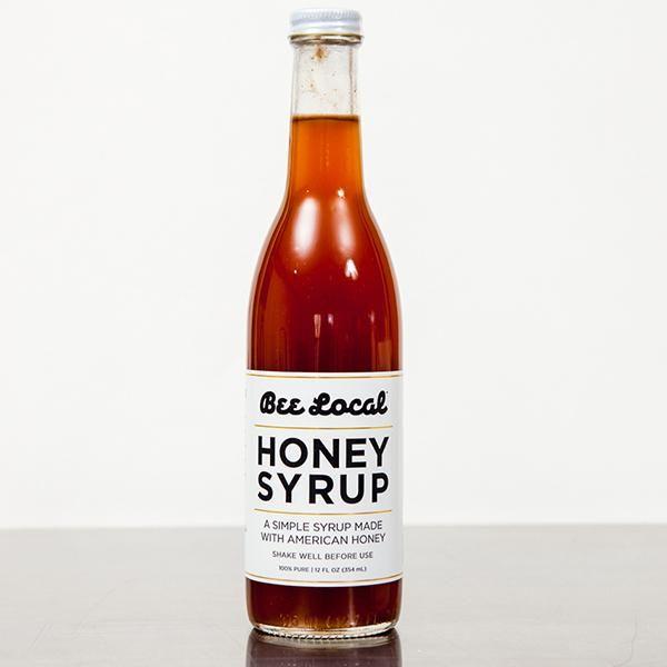 Bee Local Honey Water Ingredients Raw Wildflower Honey Water Sea Salt One Tbsp Has 15 Cal A Simple Syrup Made W Honey Syrup Simple Syrup Honey Water