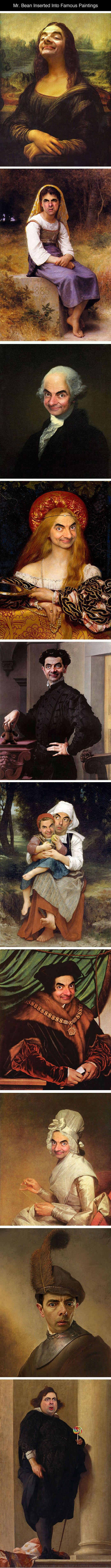 Mr. Bean Art