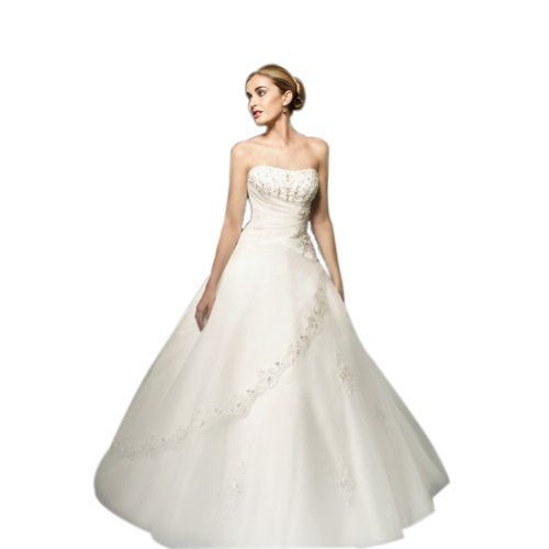 W1 WHITE SIZE 10-20 wedding reception bride evening dresses party full length prom gown ball (16) LondonProm http://www.amazon.co.uk/dp/B00DS7TWF6/ref=cm_sw_r_pi_dp_1liUtb1YRYDDH37A