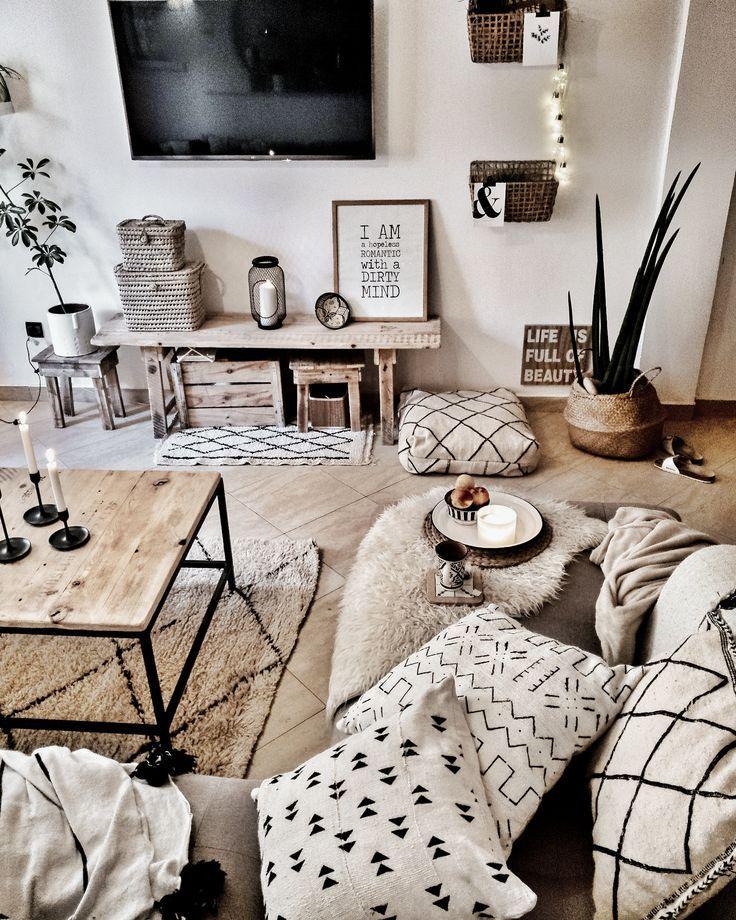 Beige Interior Apartment Living Room Design Living Room Decor Modern Rustic Living Room