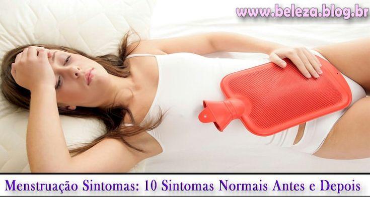 MENSTRUA��O SINTOMAS?17 Sintomas Normais Antes e Depois