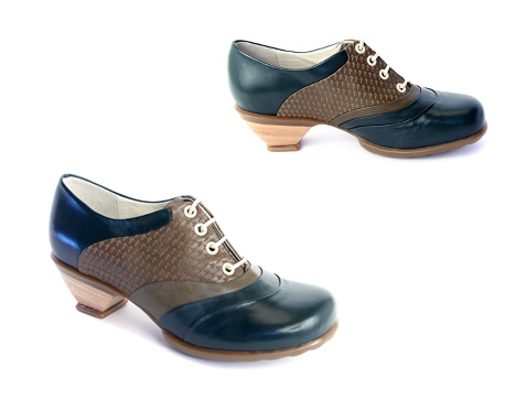 Love the funky, feminine/masculine mix of these Fluevogs
