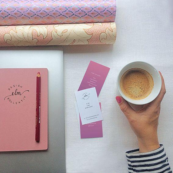 Kaffepause hos ELM DESIGNKOLLEKTIV