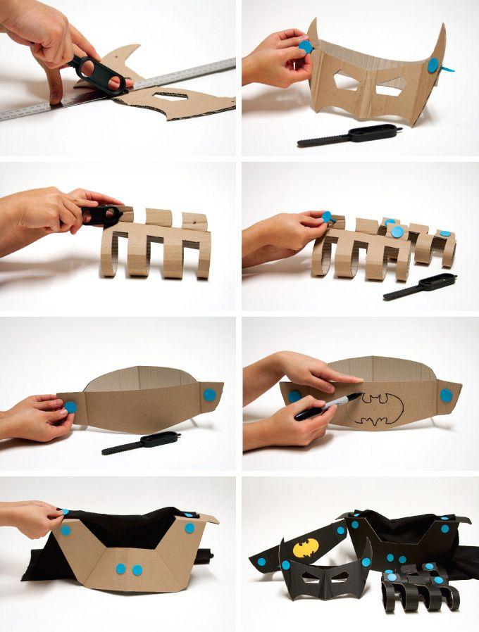 MAKEDO  HOW TO MAKE: BatmanCostume  http://mymakedo.com/inspiration-insight/how-to-make-batman-costume.html