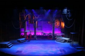 Mike Nichols is The Rep's resident set director, designing such sets as last season's Les Miserables.