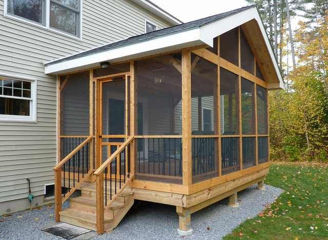 R Diy Screen Porch Screened In Porch Diy Screened In Porch Plans Screen House