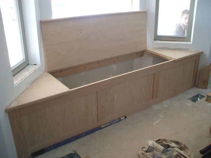 Wooden Bench under Construction