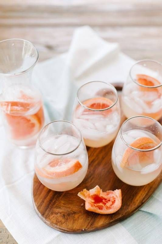 10 Pretty Spring Cocktail Recipes for Your Next Garden Party: Fresh Grapefruit Greyhound