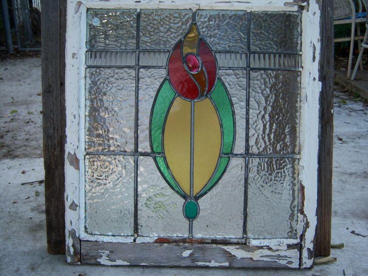 She made beautiful stained glass.Stainedglass, Stained Glass Windows, Vintage Stained Glasses, Old Windows, Beautiful Stained, Stained Glasses Windows, Outdoor Altars, Front Decks, Bathroom Windows