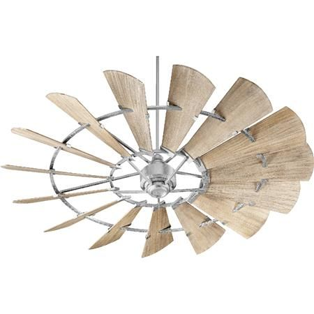 "72"" Rustic Windmill Ceiling Fan"