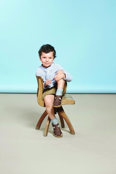 Angulus mørk cognac sandal – Hola Lola #childrensshoes #kids #shoes #holalola_no
