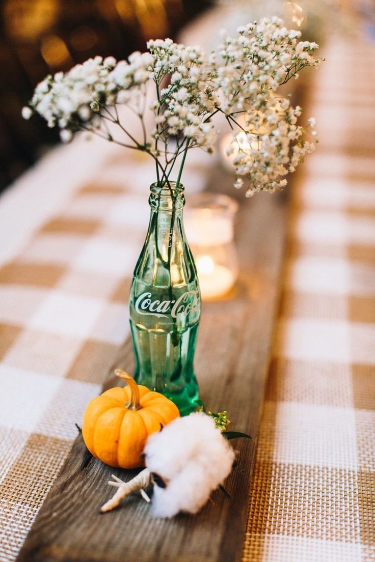 Rustic Fall Wedding | Photography: Perry Vaile Photography | Baby's Breath: