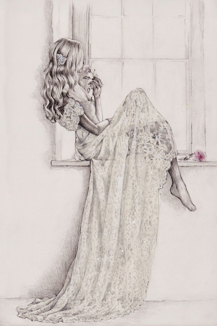 Parchment & Pixel illustration of Anna Campbell's 'Eloise' gown: