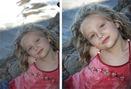 Retouche photo : améliorer un portrait à l'ombre