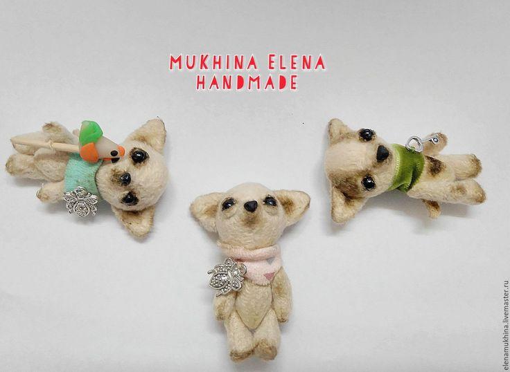 Купить Щенок чихуахуа Чи - бежевый, чихуахуа, щенок, щеночек, щенки, щенок тедди