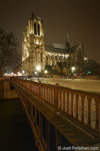 Notre Dam Cathedral, Paris France and only about three blocks from our hotel