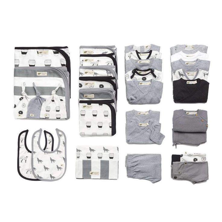 The Grey Motherlode Modern Layette Cuddle Box