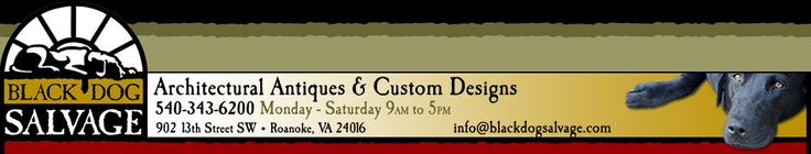 Black Dog Salvage specializes in the reclamation,repurposing and resale of architectural,commercial,and industrial elements and fixtures including:Salvaged Mantels,Doors,Windows, Stained Glass,Wrought Iron,Vintage Plumbing & Hardware,Period Lighting,Art Tile,Unique Old House Parts,Gates,Garden Statuary,Industrial & Commercial Fixtures,Antique Store Counters and Much More.