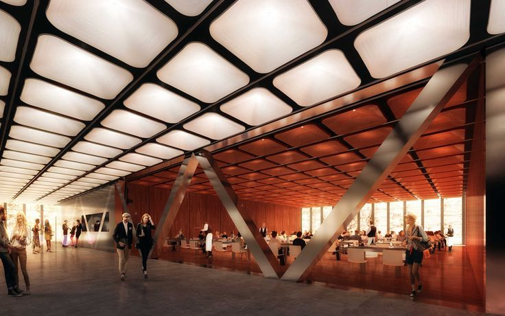 Today REX's design for the Ronald O. Perelman Performing Arts Center at the…