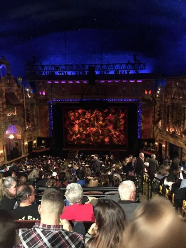 Saenger Theatre New Orleans Section Balcony C Row N Seat 117 The Lion King Shared By Buldawg94 Seating Charts Theater Seating Seat View