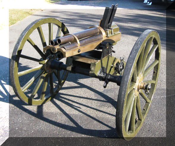 1885 Hotchkiss Rotary cannon for sale