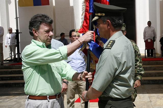 El presidente de la República, Juan Manuel Santos Calderón, nos acompañó en el lanzamiento de nuestra Metropolitana de Santa Marta.