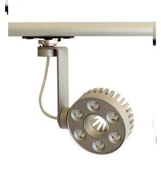 Odissy 6 track 24vdc 500mA lampada da binario 6 led con driver 230vac integrato