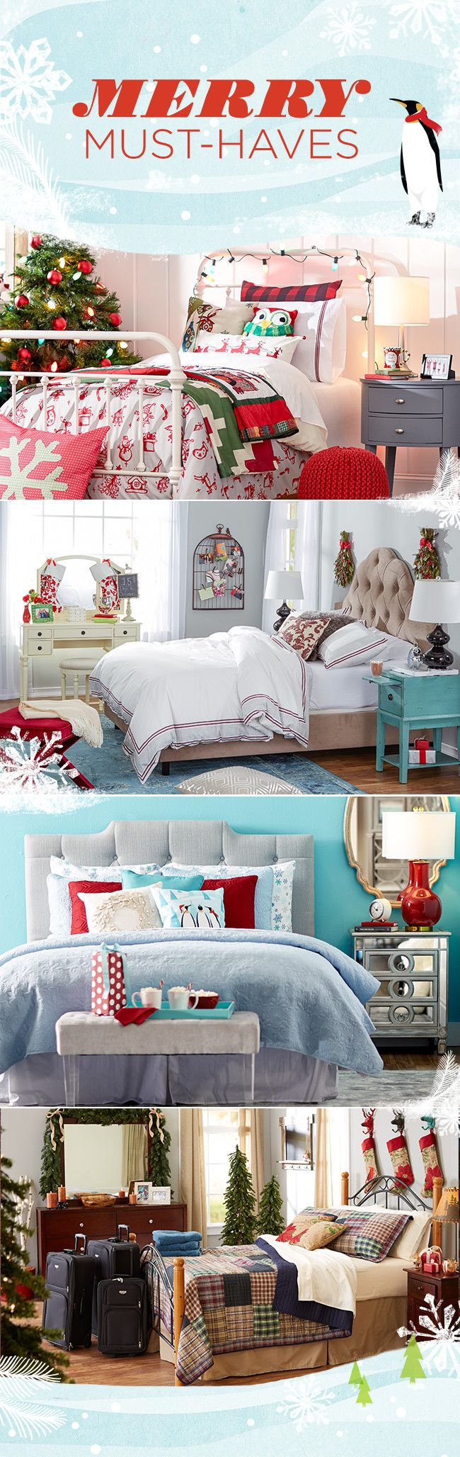 Help visitors feel at home with these fresh updates. If you don't have a spare room, pick up an air mattress or daybed to convert any area into a multipurpose sleep space. Visit Wayfair and sign up today to get access to exclusive deals everyday up to 70% off. Free shipping on all orders over $49. Merry Markdowns Christmas sale ends 12/31/15.