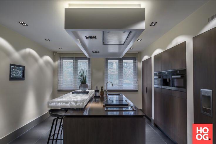 Van Dinther Bouwbedrijf - Villa Brabant - Moderne keuken inspiratie