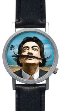 Salvador Dali wrist watch. Be better if his mustache melted, but pretty cool gift nonetheless.
