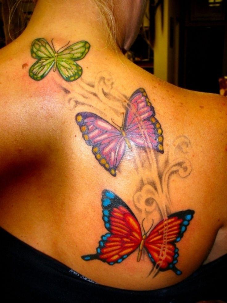 1000 ideen zu schmetterling tattoo auf pinterest. Black Bedroom Furniture Sets. Home Design Ideas