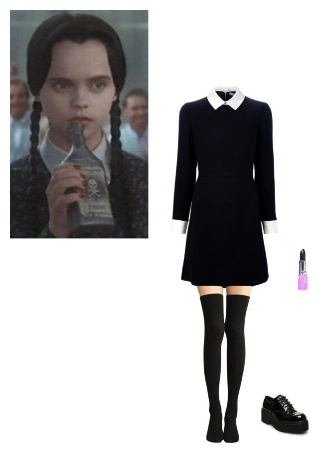 beautifully done wednesday addams costume i love it - Halloween Costumes Wednesday Addams