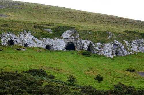 Caves of Keash, co. Sligo, Ireland by bennybulb