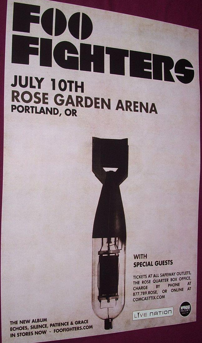 Foo-Fighters-posters-Portland concert