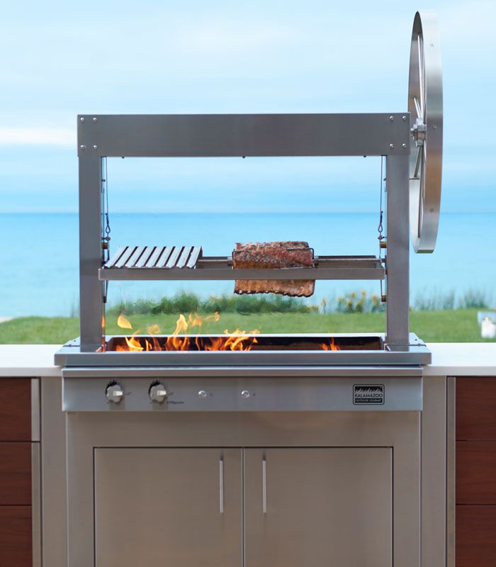 Outdoor Argentinian Gaucho Grill