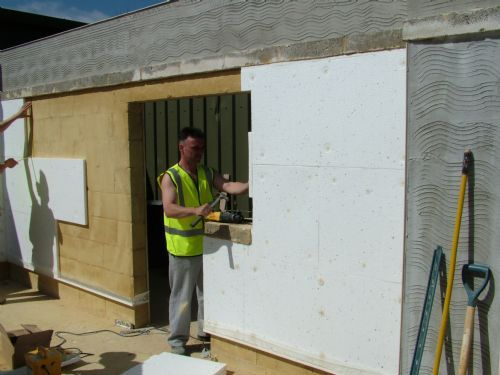 Outside Wall Insulation role in keeping the heat in has become increasingly important and ,following numerous grants rolled out for cavity insulation.