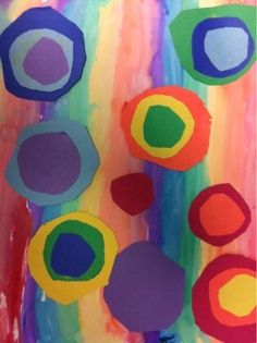 kandinsky art kids lesson - How beautiful is this??