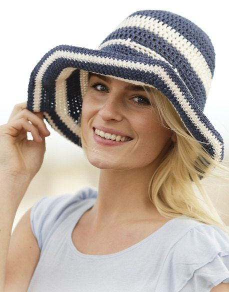 Beach hat Summer hat Sun hat Women hat Floppy hat by prettyobject