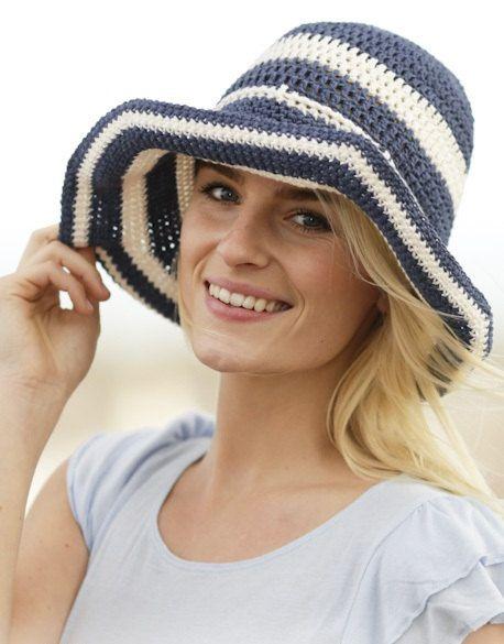 Beach hat Summer hat Sun hat Women hat Floppy hat by prettyobject